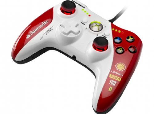 Thrustmaster GPX LightBack Xbox 360 and PC Ferrari F1 Edition Gamepad - GPX ライトバック ゲームパ