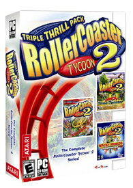 ROLLERCOASTER TYCOON2 TRIPLE THRILL PACK