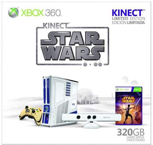 Xbox 360 Limited Edition Kinect Star Wars Bundle (輸入版)