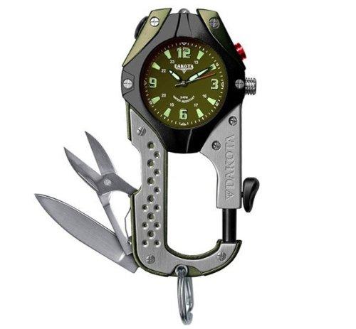 [ダコタ]Dakota Knife Clip Watch (Green)