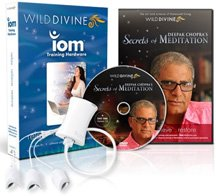 Wild Divine & Deepak Chopra's Secrets of Meditation Biofeedback Software & Hardware for PC & Mac (