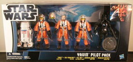 US ToysRUs 限定STAR WARS YAVIN PILOT - 5-PACK スターウォー ズ ヤビンパイロット5パック