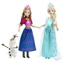 Disney アナと雪の女王 ミュージカル マジック エルサ アナ オラフ 人形 Frozen Musical Magic Gift Se