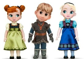 "Disney STORE Animations COLLECTION ""Frozen"" ""Anna / Kristoff / Elsa"" toddler set  ディズニース"