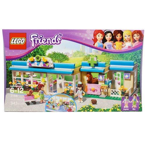 女の子も楽しい!レゴ フレンズ ハートレイク ヴェット動物病院 3188 LEGO