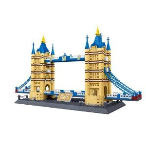 Tower Bridge of London England Building Blocks 1033 Pcs Set in Huge Gift Box !! Lego (レゴ) Parts