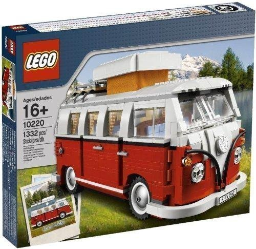 Lego レゴフォルクスワーゲンT1のキャンピングカーヴァン 10220