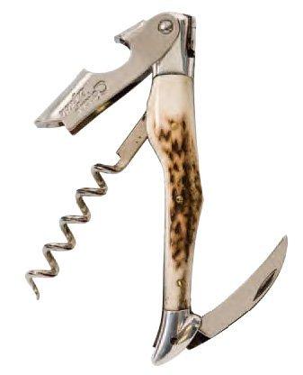 Jean Dubost Laguiole Stag Horn Waiter Style Corkscrew