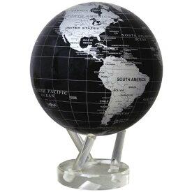 光で回る地球儀 ムーバグローブ MOVA Globe 8.5インチシリーズ (シルバー&ブラック)