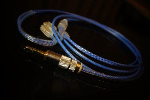 Zee's Music Neotech 7N OCC Westone IEM全般 交換用アップグレード・ケーブル Ear Sonics Heir Audio Au