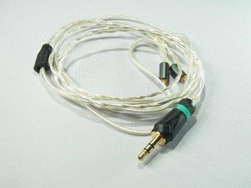 究極ライン Effect Audio Studio Rhea Shure 交換用アップグレードケーブル UE900対応 Upgrade cable UE9