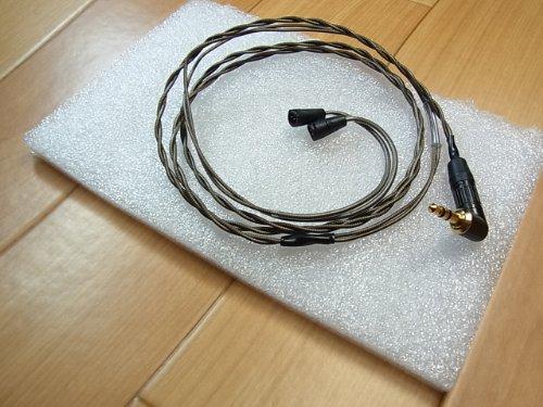 究極ライン SUN CABLE Ancient Legacy Sennheiser 交換用アップグレード・ケーブル IE8, IE80対応