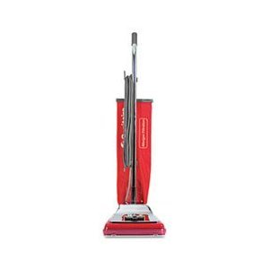 Electrolux Sanitaire SC888K - Heavy-Duty Commercial Upright Vacuum 掃除機, 17.5 lbs, Chrome/Red