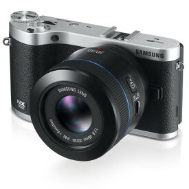Samsung NX300 20.3MP CMOS Smart WiFi Compact Interchangeable Lens Camera with 45mm 2D/3D Lens and
