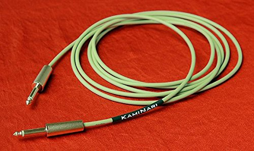 Kaminari / Mersey Beat 60′s Cable K-MC3SS 3m SS Powder Olive