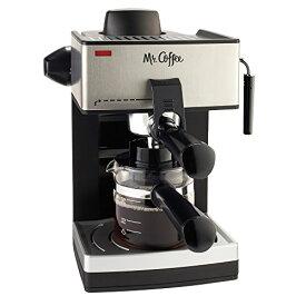 Mr. Coffee [ミスターコーヒー] スチームエスプレッソマシーン ECM160 4-Cup 4-Cup Steam Espresso Machi