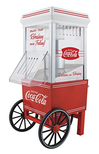 Nostalgia Electrics コカ・コーラシリーズ OFP501COKE Hot Air Popcorn Maker ポップコーンメーカー