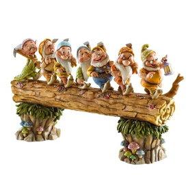 ディズニー トラディション Enesco Disney Traditions Seven Dwarfs 置物 フィギュア 7人のこびと