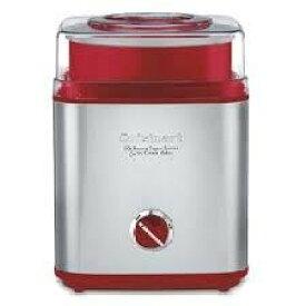 Cuisinart クイジナートアイスクリームメーカー ICE-30R(Metal Red)