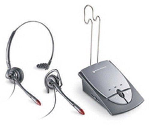Plantronics S12 Telephone Headset System 65145-01 by Plantronics Inc
