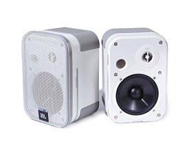 JBL Control Bookshelf Speakers - Pair (White)