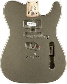 フェンダー Fender USA 純正パーツ Telecaster SSH Alder Body Modern Bridge Mount JADE PEARL METALLIC