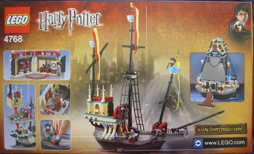 おもちゃ Lego レゴ Harry Potter ハリーポッター The Durmstrang Ship with 4 Bonus Mini Figures (4768