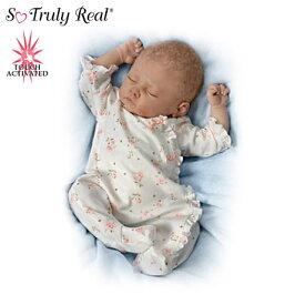 【アシュトンドレイク】Sophia Baby Doll Breathes, Coos And Has A Heartbea/赤ちゃん人形/ベビードール