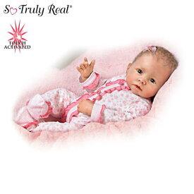 【アシュトンドレイク】Katie Baby Doll Breathes, Coos And Has A Heartbeat/赤ちゃん人形/ベビードール
