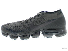 NIKE AIR VAPORMAX FLYKNIT 849558-009 midnight fog/multi-color-black エア ヴェイパーマックス フライニット 未使用品【中古】