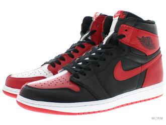 "AIR JORDAN 1 RETRO HIGH OG NRG ""HOMAGE TO HOME"" 861,428-061 black/university red-white Air Jordan nostalgic high-free article"