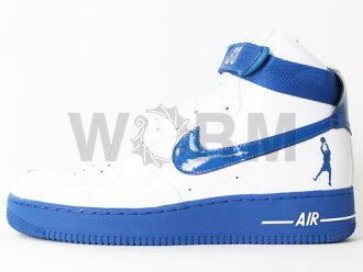 NIKE AIR FORCE 1 SHEED 307722-141 white/blue jay空軍,是,未使用的物品