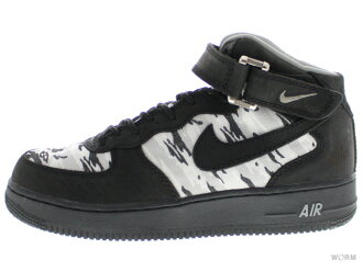 "NIKE AF-X MID ""RECON"" 309040-001 black/blk-n grey-m grey air force unread items"