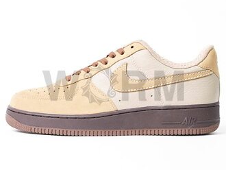 NIKE AIR FORCE 1 PREMIUM 07 315180-223 tweed/tweed-light bone-brq brwn Airforce unread items