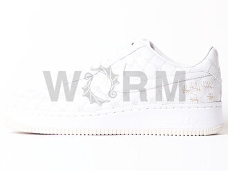 "NIKE AIR FORCE 1 LOW SUPREME I/O ""MICHAEL LAU"" 349538-111 white/white Airforce unread items"