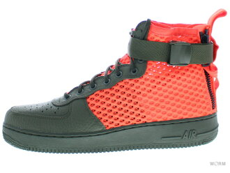 ad79c2b99522c8 WORM TOKYO  NIKE SF AF1 MID QS aa7345-300 cargo khaki total crimson air  force mid-free article