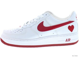 "NIKE WMNS AIR FORCE 1""2004""307109-161 white/varsity red(v-day)空軍未使用的物品"