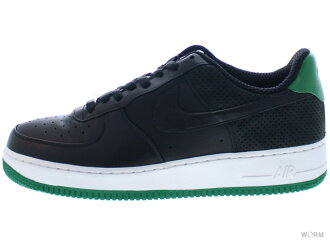 "NIKE AIR FORCE 1 PREMIUM 07 ""FRAGMENT"" 316892-002 black/black-pine green 에어포스 fragment미사용품"