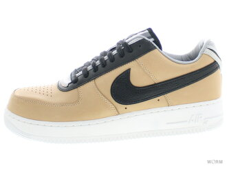 NIKE AIR FORCE 1 SP/TISCI 669917-200 vachetta tan/black空軍未使用的物品