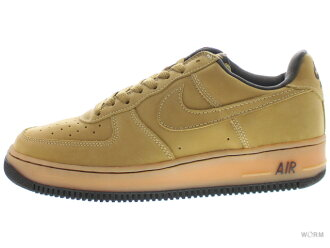 NIKE AIR FORCE 1 B 624040-771 wheat/wheat-dark mocha空軍未使用的物品