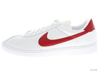 "NIKE BRUIN LEATHER""MARTY MCFLY""826670-160 white/university red鬥牛犬界內皮革未使用的物品"