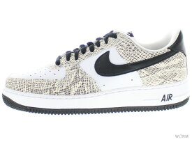 """NIKE AIR FORCE 1 LOW RETRO """"COCOA SNAKE"""" 845053-104 true white-black cocoa ナイキ エア フォース ロウ レトロ 【新古品】"""
