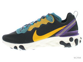 NIKE REACT ELEMENT 55 PRM ci9593-002 black/pollen rise-mineral teal ナイキ リアクト エレメント 【新古品】
