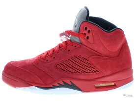 fe49361b96fe35 中古 AIR JORDAN 5 RETRO 136027-602 university red black エア ジョーダン 未使用品 中古