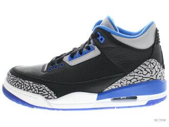 AIR JORDAN 3 RETRO 136064-007 black/sport blue-wolf grey Air Jordan 3 unread items