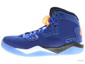 【US8】AIR JORDAN SPIKE FORTY PE 807541-405 game royal/ttl orng-white-blk エアジョーダン 未使用品【中古】