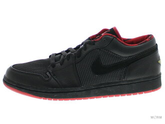 AIR JORDAN 1 RETRO LOW 309192-001 black/metallic silver-vrsty rd에 어 조던 1 미사 용품