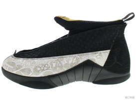 0d4059c5d6ee 中古  US11 AIR JORDAN 15 RETRO LS 317274-071 black metallic gold-white エア  ジョーダン 未使用品 中古