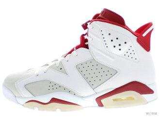 """AIR JORDAN 6 RETRO """"ALTERNATE"""" 384,664-113 white/gym red-pure platinum Air Jordan-free article"""