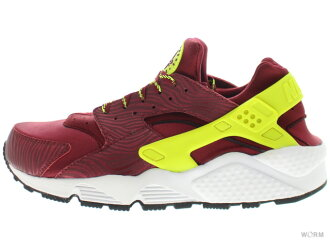 NIKE AIR HUARACHE 318429-630 team red/volt-black air halti unread items
